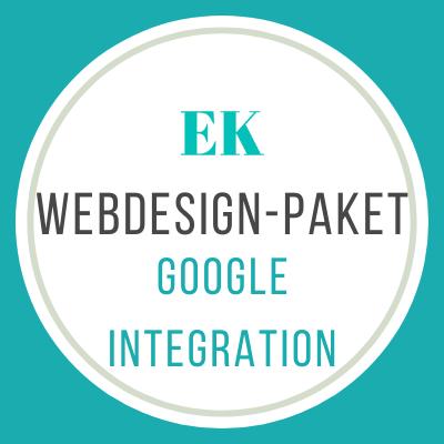 Webdesign-Google-Integration